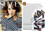 """magazyn SUKCES - styczeń 2010r.tekst Doroty Gepert pt. """"Piękno na długi dystans"""",a w nim moje zdanie w temacie rzęs."""