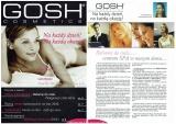 """magazyn drogeryjny GOSH Sekrety urody nr 2/2006""""Balsamy do ciała... centrum SPA w naszym domu...""""mój tekst"""